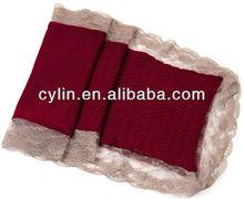 2013 Lady's knitting wool lace fashion scarf
