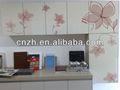 Acryliques modernes d'armoires de cuisine, vernis uv acrylique porte d'armoire de cuisine