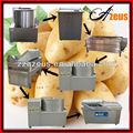 200 kg/h semi congelada completamente automático frito la toma de la fábrica / de las patatas fritas línea de producción