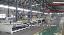 WJ corrugated cardboard production line equipment single facer
