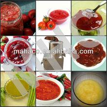 High capacity MHC auto fruit paste machine vegetable paste cutter machine