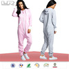 2014 Brushed fleece hood adult onesie