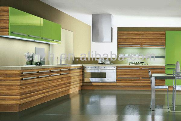 Moderne m lamine stratifi mdf acry pvc armoires de for Cuisine a la mode