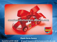 """CR80 3 3/8 x 2 1/8 """" plastic Taxi 04 & car cards"""
