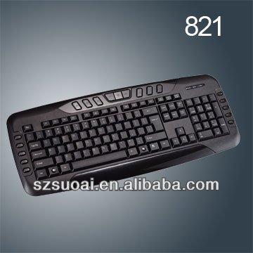 Wired multimedia Keyboard for laptops