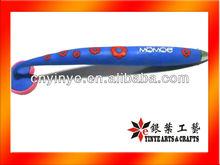 2013 Promotional Rubber Grip Fridge Magnet Ball Pen