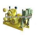 Compressor de gás amônia estrutura compacta