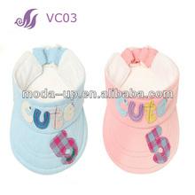 Cheap baby summer visor hat