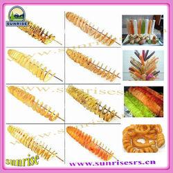 best quality professional mini household golden Tornado spiral potato cutter/ potato chips cutter