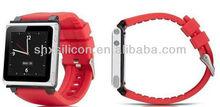 hot selling for fashion apple ipod nano 6 watchband