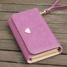 Multi Function Credit Card Port Money Pocket Handbag for Mobile Phone