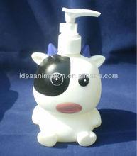 OEM 500ml vinly cartoon figure shampoo bottle animal-04