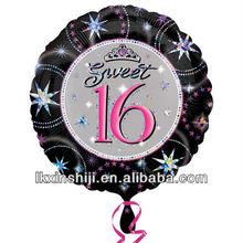 Promotional balloon Fashion Birthday balloon