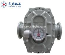 Mechanical diesel engine oil conductive oil oval gear flow meter