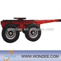 China WONDEE Double Axle Dolly Semi-trailer