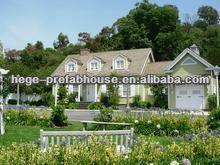 light steel prefabricated beach villa house