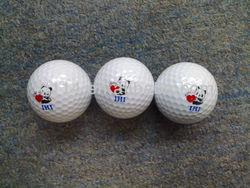 Cute Bulk Two Layer Golf Range Ball