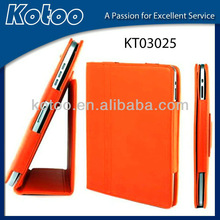 Stand stable PU leather case for ipad 2,stand case for ipad