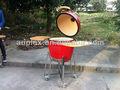 giardino esternoin mattoni cucina barbecue grill