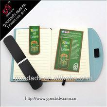 2012 promotional OEM magnet bookmark/book clip
