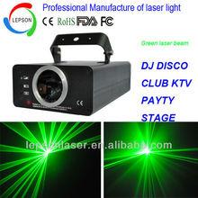 100mW green indoor laser light show for DJ disco night club