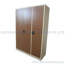Double color modern swing door metal bedroom iron cupboard alibaba trade manager