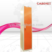 2013 KD African Market Customized Firm and EnvironmentOne Tier Long Use Worker&Staff Locker With Hanger and Mirror