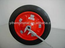 Solid Rubber Wheel for Wheelbarrow / Wheelbarrow Solid Tyre / Wheelbarrow Solid Rubber Tires