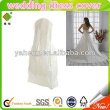 Cotton wedding dress garment bags(new design 2013)
