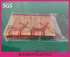 Pvc packaging bag for bed linen