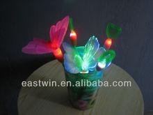 led fiber optic butterfly light
