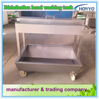 Stainless steel disinfection hand wash trough