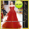 Hot Sale Long Good Quality Tulle Strapless Lace Appliqued New Zuhair Murad Evening Dress