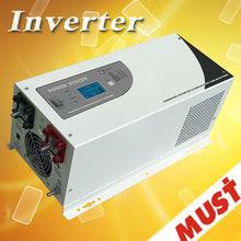 lcd display pure sine wave 5kw power inverter