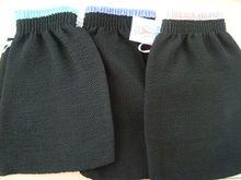 100% Viscose Exfoliating Glove Bath Mitt/300D Sinlge Rayon Fabric