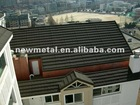 asphalt shingles roof coated