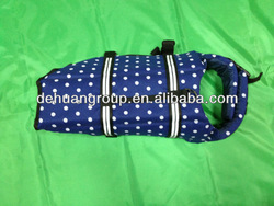 S,M,L size navy color dog life jacket /Pet life vest