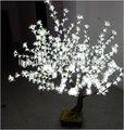 led branco artificial da flor de cereja luz da árvore