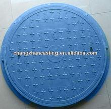 Plastic polyethylene FRP manhole cover