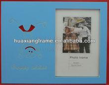 2013 new design MDF wooden photo frame BABY ITEM
