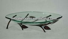 Clear Glass Shallow Vegtable/Fruit Bowl
