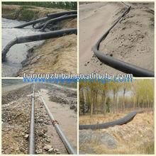 UHMW PE pipeline used for oil exploitation