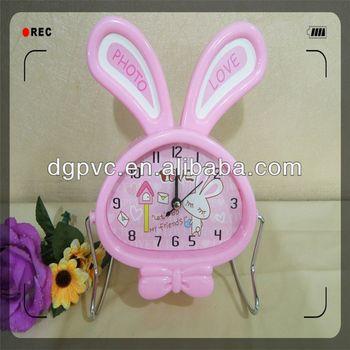 spring clock ,light clock, designer flip clock