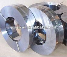 Tiras de metal cromado