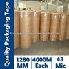 Big Roll BOPP Adheisve Tape 1280mmx4000M
