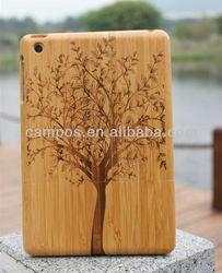 Hot sale ! for iPad mini bamboo case