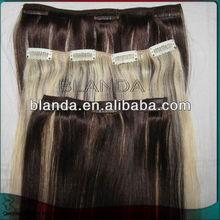 cheap virgin remy peruvian hair weave silk smooth clip hair extension remy