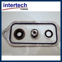 Rubber mold Medical components product in making compression mold molding