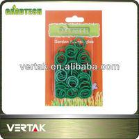 Plastic plant rings