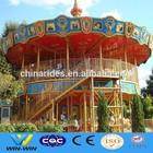On promotion!!! double decker amusement park carousel